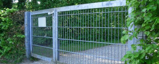 Gartentore und Pforten für private Grundstücke und Gewerbe
