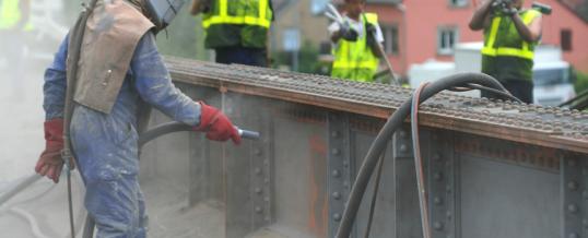 Sandstrahlen – Korrosionsschutz und Restauration