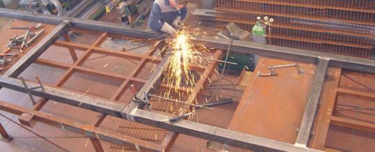 Stahlkonstruktionen und Sonderanfertigungen